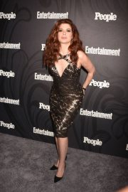 Debra Messing Stills at EW & People New York Upfronts Celebration 2018/05/14 12