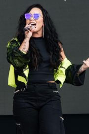 Demi Lovato Performs at BBC Biggest Weekend Festival in Swansea 2018/05/27 3
