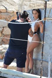 Demi Rose in Swimsuit on the Set of a Photoshoot in Ibiza 2018/05/25 2