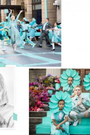 Elle Fanning Poses for Tiffany & Co Paper Flowers / Believe in Dreams Campaign 2018 Photos 6