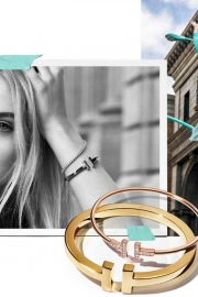 Elle Fanning Poses for Tiffany & Co Paper Flowers / Believe in Dreams Campaign 2018 Photos 8