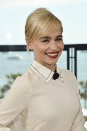 Emilia Clarke Stills at Kering Women in Motion Photocall at 71st Annual Cannes Film Festival 2018/05/15 10