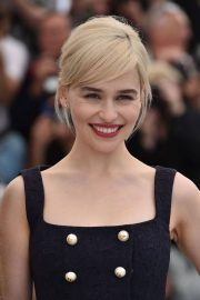 Emilia Clarke Stills at Solo: A Star Wars Story Photocall at 71st at Cannes Film Festival 2018/05/15 15
