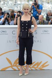 Emilia Clarke Stills at Solo: A Star Wars Story Photocall at 71st at Cannes Film Festival 2018/05/15 17