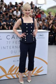 Emilia Clarke Stills at Solo: A Star Wars Story Photocall at 71st at Cannes Film Festival 2018/05/15 19