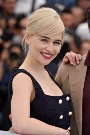 Emilia Clarke Stills at Solo: A Star Wars Story Photocall at 71st at Cannes Film Festival 2018/05/15 20