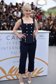 Emilia Clarke Stills at Solo: A Star Wars Story Photocall at 71st at Cannes Film Festival 2018/05/15 21