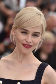 Emilia Clarke Stills at Solo: A Star Wars Story Photocall at 71st at Cannes Film Festival 2018/05/15 25