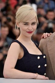 Emilia Clarke Stills at Solo: A Star Wars Story Photocall at 71st at Cannes Film Festival 2018/05/15 26