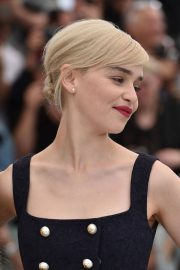 Emilia Clarke Stills at Solo: A Star Wars Story Photocall at 71st at Cannes Film Festival 2018/05/15 27