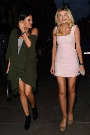 Emily Blackwell and Georgia Toffolo Stills Night Out in London 2018/05/22 2