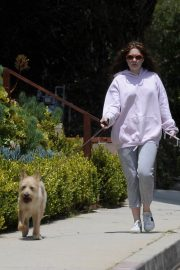 Emma Kenney Out with Her Dog in Los Angeles 2018/05/27 8