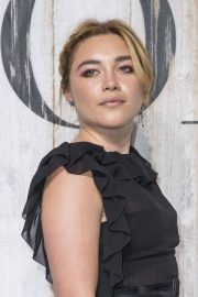 Florence Pugh at Christian Dior Couture Cruise Collection Photocall in Paris 2018/05/25 2