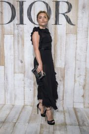 Florence Pugh at Christian Dior Couture Cruise Collection Photocall in Paris 2018/05/25 6