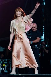 Florence Welch Performs at BBC Biggest Weekend Festival in Swansea 2018/05/27 2