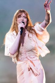 Florence Welch Performs at BBC Biggest Weekend Festival in Swansea 2018/05/27 15