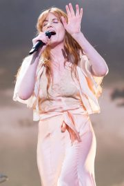 Florence Welch Performs at BBC Biggest Weekend Festival in Swansea 2018/05/27 16