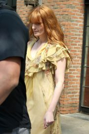 Florence Welch Stills Leaves Her Hotel in New York 2018/05/15 6