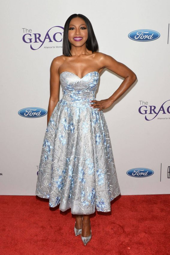 Gabrielle Dennis Stills at 2018 Gracie Awards Gala in Beverly Hills 2018/05/22 15