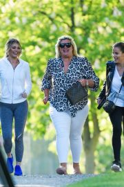 Gemma Collins Chloe Sims and Georgia Kousoulou  Stills on the Set of TOWIE in Brentwood 2018/05/15 1