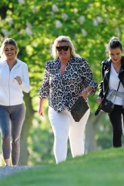 Gemma Collins Chloe Sims and Georgia Kousoulou  Stills on the Set of TOWIE in Brentwood 2018/05/15 3