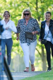 Gemma Collins Chloe Sims and Georgia Kousoulou  Stills on the Set of TOWIE in Brentwood 2018/05/15 4