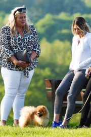 Gemma Collins Chloe Sims and Georgia Kousoulou  Stills on the Set of TOWIE in Brentwood 2018/05/15 7