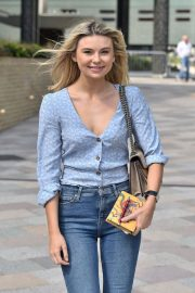 Georgia Toffolo Stills in Jeans Leaves This Morning Show in London 2018/05/23 4