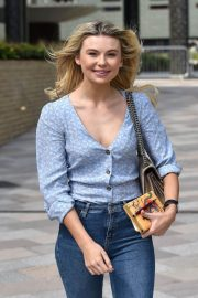 Georgia Toffolo Stills in Jeans Leaves This Morning Show in London 2018/05/23 9