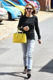 Geri Halliwell Stills Out and About in Yattendon 2018/05/15 3