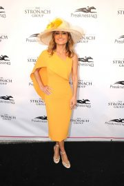 Giada De Laurentiis Stills at 143rd Preakness Stakes at Primlico Race Course in Baltimore 2018/05/19 1