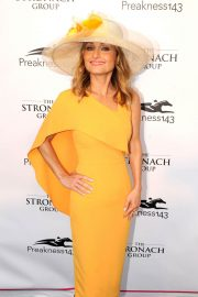 Giada De Laurentiis Stills at 143rd Preakness Stakes at Primlico Race Course in Baltimore 2018/05/19 2