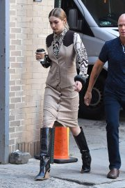 Gigi Hadid on the Set of a Photoshoot in New York 2018/05/30 2
