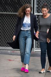 Gillian Jacobs Stills at Jimmy Kimmel Live in Los Angeles 2018/05/18 10