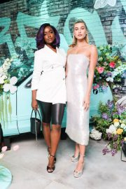 Hailey Baldwin Stills at Tiffany Paper Flowers Event in New York 2018/05/03 13