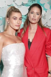 Hailey Baldwin Stills at Tiffany Paper Flowers Event in New York 2018/05/03 14