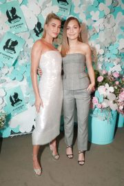 Hailey Baldwin Stills at Tiffany Paper Flowers Event in New York 2018/05/03 16