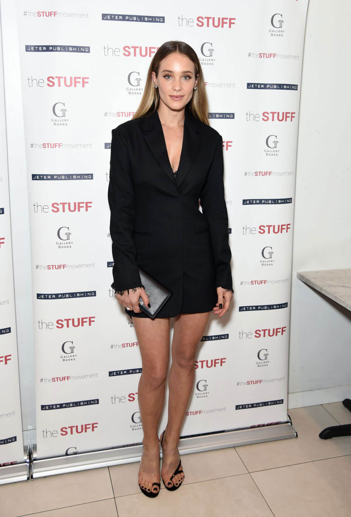 Hannah Jeter Stills at The Stuff Book Launch in New York 2018/05/14 9
