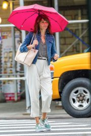Helena Christensen Stills Out and About in New York 2018/05/22 5