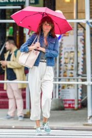 Helena Christensen Stills Out and About in New York 2018/05/22 6