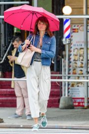 Helena Christensen Stills Out and About in New York 2018/05/22 8
