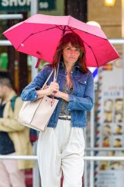 Helena Christensen Stills Out and About in New York 2018/05/22 9