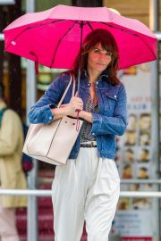Helena Christensen Stills Out and About in New York 2018/05/22 10