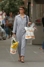 Helena Christensen Stills Out Shopping in New York 2018/05/09 1