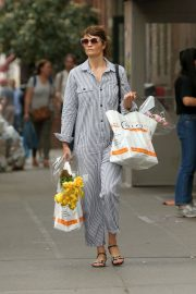 Helena Christensen Stills Out Shopping in New York 2018/05/09 6