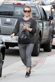 Hilary Duff Leaves a Gym in Los Angeles 2018/05/26 9