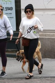 Hilary Duff Stills Out with Her Dog in New York 2018/05/18 5