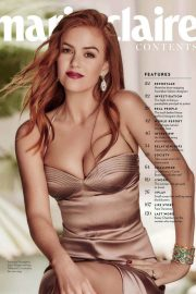 Isla Fisher for Marie Claire Magazine, July 2018 Issue 9