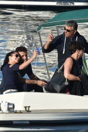 Jenna Lynn Meowri and Giuseppe Rossi Stills Out for Lunch and Boat Ride in Portofino 2018/05/07 5