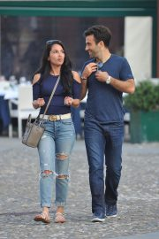 Jenna Lynn Meowri and Giuseppe Rossi Stills Out for Lunch and Boat Ride in Portofino 2018/05/07 9